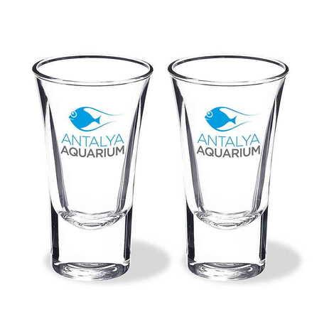 Aquapark Temalı Baskılı Shot Bardak 45x70 mm