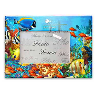 Aquapark Temalı Myros Fotoğraf Çerçevesi 13x18 cm - Thumbnail