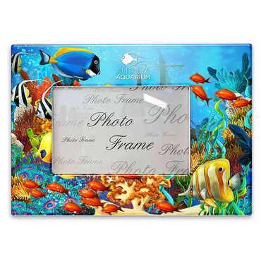 Aquapark Temalı Myros Fotoğraf Çerçevesi 15x20 cm - Thumbnail