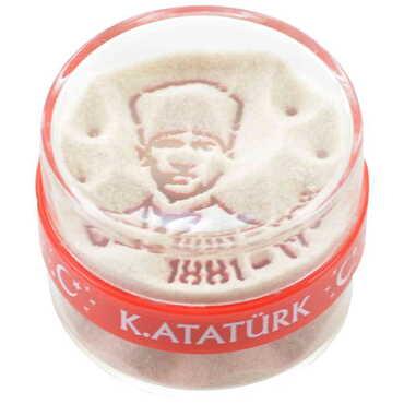 Atatürk Temalı Sihirli Kum Küre - Thumbnail