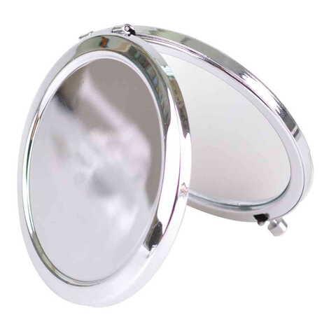 Baskısız Metal Yuvarlak Ayna 70x11 mm