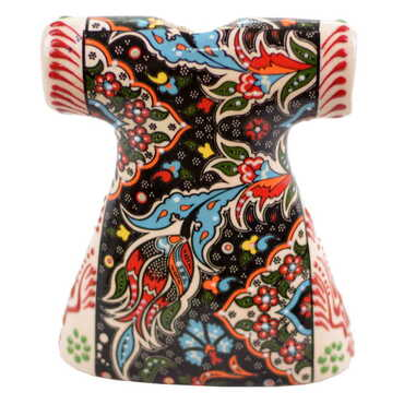 Çini Özel Kabartma Kaftan 15 cm - Thumbnail