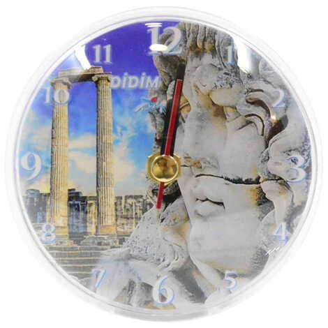 Didim Temalı Myros Plastik Saat Magnet
