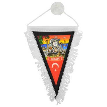 Didim Temalı Üçgen Flama 10X15 cm - Thumbnail