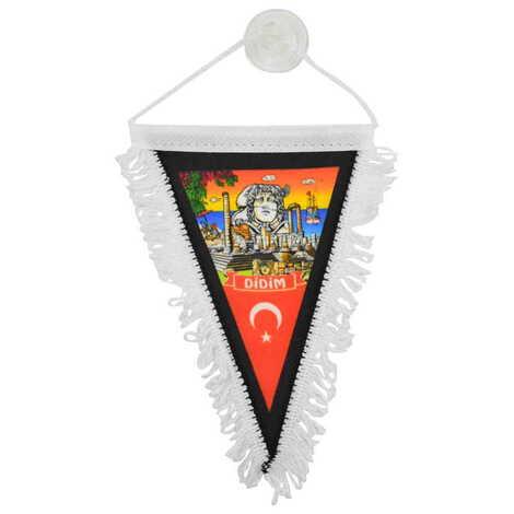 Didim Temalı Üçgen Flama 10X15 cm