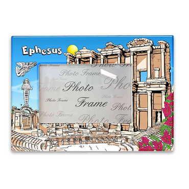 Efes Temalı Myros Fotoğraf Çerçevesi 13x18 cm - Thumbnail