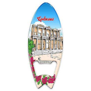 Efes Temalı Myros Metal Sörf Açacak Magnet 128x45 mm - Thumbnail