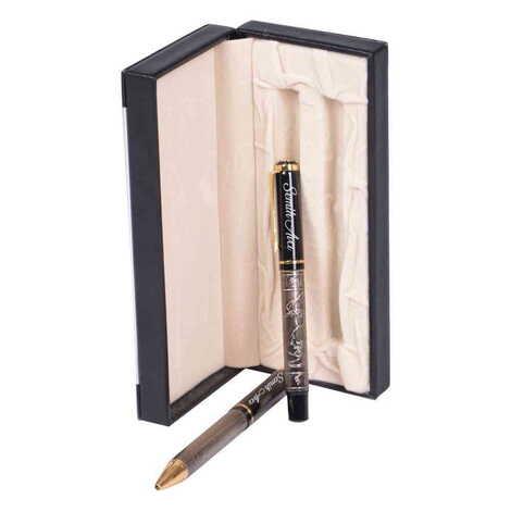 İsme Özel Metal Mevlanaİşlemeli Tükenmez Kalem Seti