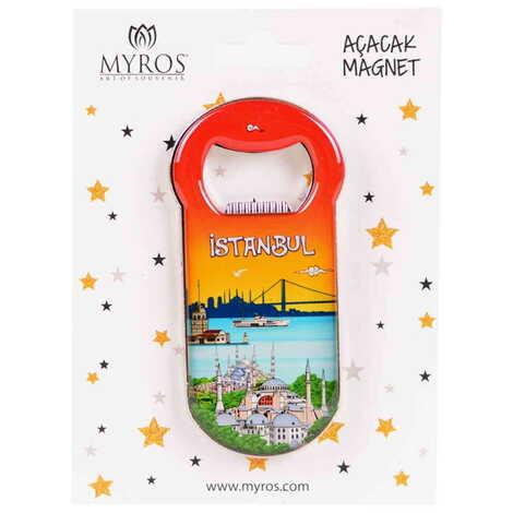İstanbul Temalı Kartonetli Açacak Magnet