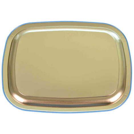 Kaş Bölgesi Temalı Myros Metal Resimli Tepsi 305x235 mm