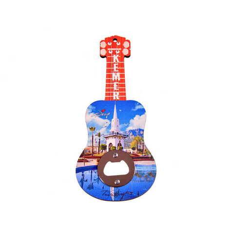 Kemer Temalı Myros Ahşap Gitar Açacak Magnet 200x89 mm