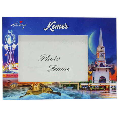 Kemer Temalı Uv Baskılı Fotoğraf Çerçevesi 10x15 cm