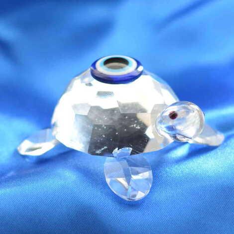 Kristal Kaplumbağa No:3 Biblo