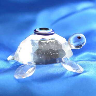 Kristal Kaplumbağa No:3 Biblo - Thumbnail
