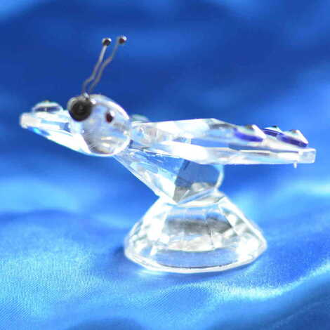 Kristal Orta Kelebek Biblo