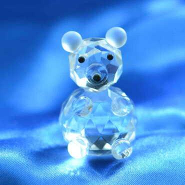 Kristal Panda No:2 Biblo - Thumbnail