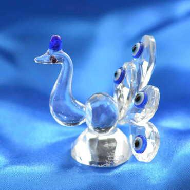 Kristal Tavuskuşu 6 Lı No:2 Biblo - Thumbnail