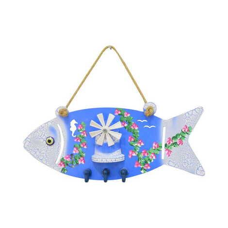 Marin Balık Anahtarlık Askısı
