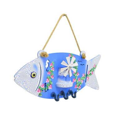 Marin Balık Anahtarlık Askısı - Thumbnail