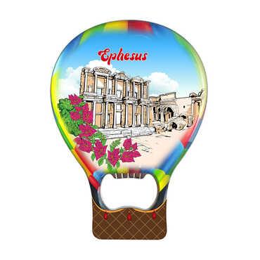 Müze Temalı Myros Metal Balon Açacak Magnet T 102x73 mm - Thumbnail