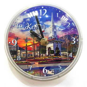 Özelleştirilebilir Myros Plastik Saat Magnet - Thumbnail