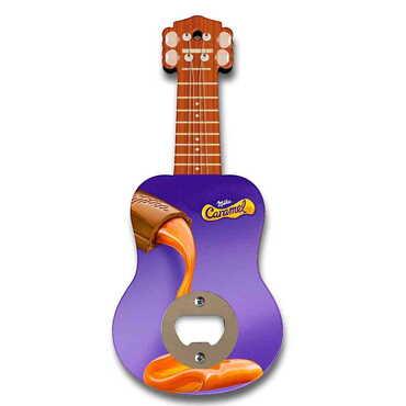 Promosyon Myros Ahşap Gitar Açacak Magnet 200x89 mm - Thumbnail