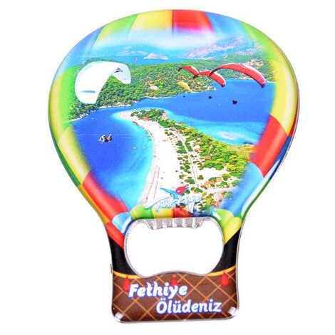 Şehre Özel Myros Metal Balon Açacak Magnet T 102x73 mm