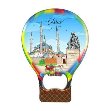 Şehre Özel Myros Metal Balon Açacak Magnet T 102x73 mm - Thumbnail