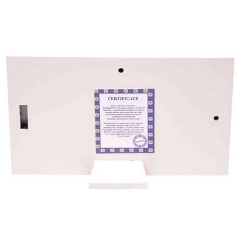 Tablo Antalya Beyaz 78x125 mm