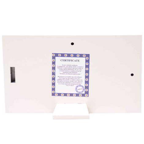 Tablo Kemer Beyaz 78x125 mm