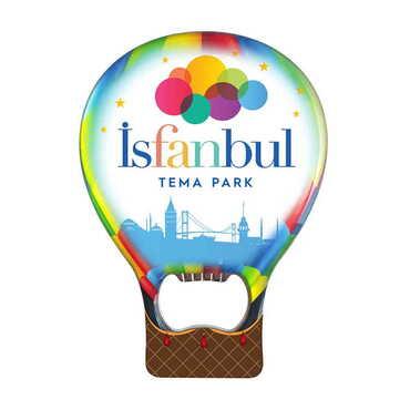Tema Park Temalı Myros Metal Balon Açacak Magnet T 102x73 mm - Thumbnail