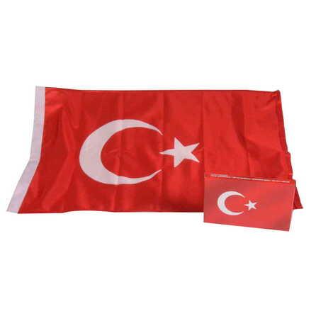 Türk Bayrağı 40X60 cm (Raşel 120 Gr/M² )